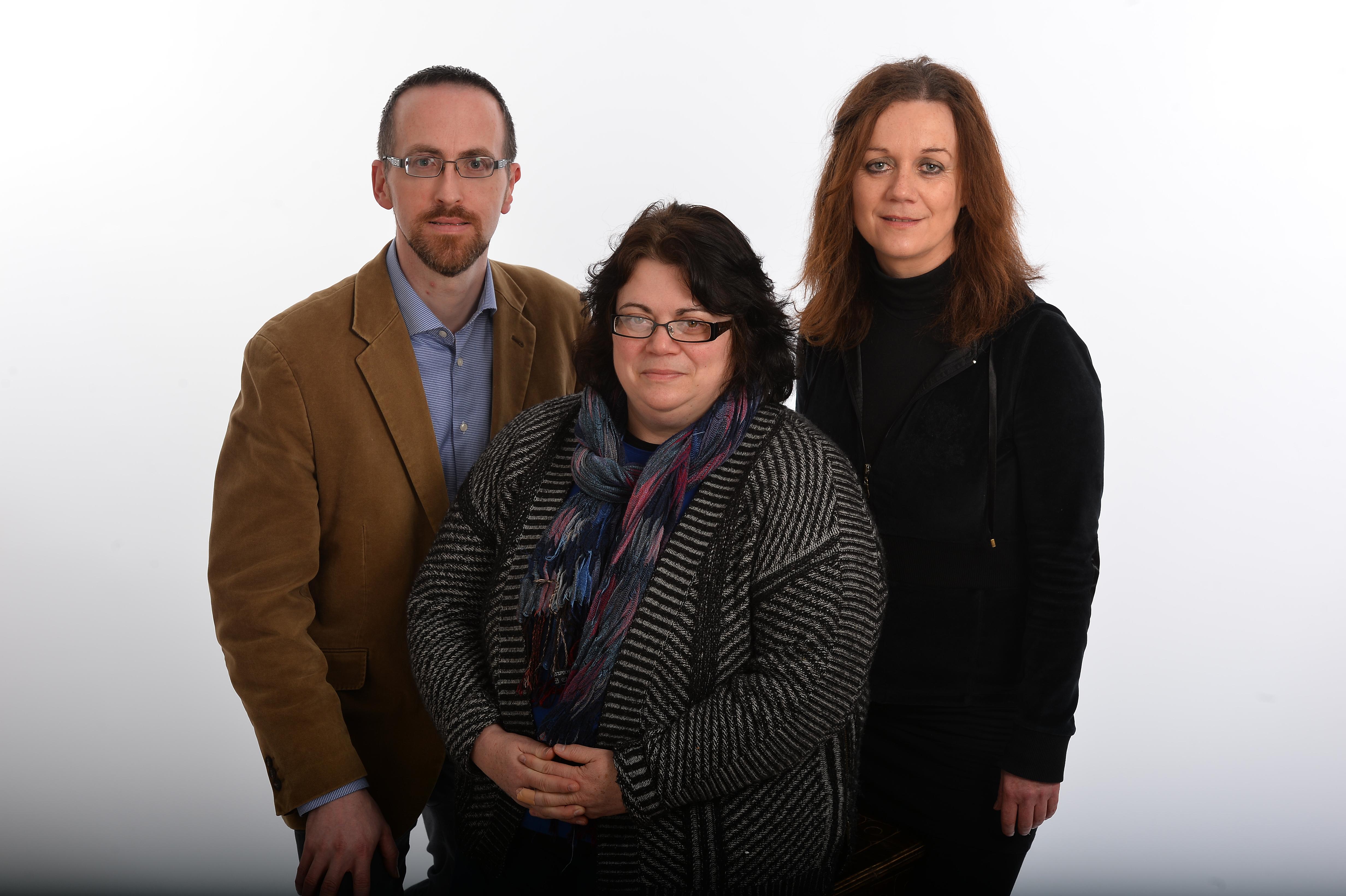 Owen O'Shea, Dr Mary McAuliffe, Bridget McAuliffe.jpg